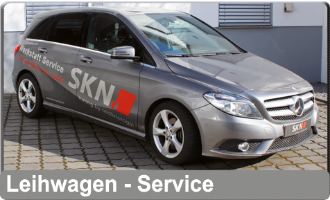 Leihwagen Service