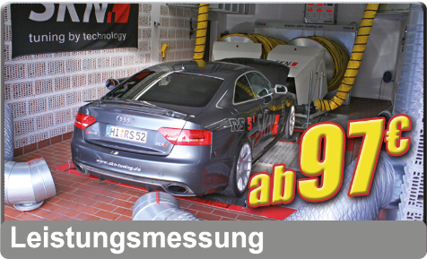 Leistungsmessung - 4X4 Messung - DYNO